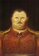 A General painting reproduction, Fernando Botero