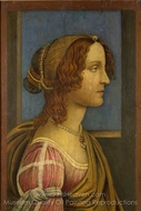 A Lady in Profile painting reproduction, Sandro Botticelli