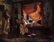 A Moorish Interior painting reproduction, Rudolph Ernst
