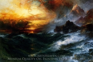 A Mountain of Loadstone painting reproduction, Thomas Moran