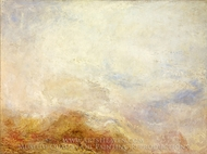 A Mountain Scene painting reproduction, J.M.W. Turner