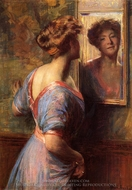 A Passing Glance painting reproduction, Thomas Pollock Anschutz