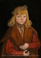 A Prince of Saxony painting reproduction, Lucas Cranach