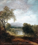 A River Glimpse painting reproduction, Thomas Doughty