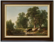 A Summer Afternoon painting reproduction, Asher Brown Durand
