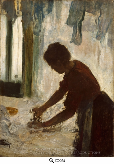 Edgar Degas, A Woman Ironing oil painting reproduction