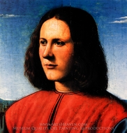A Young Man painting reproduction, Piero Di Cosimo