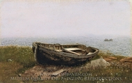 Abandoned Boat painting reproduction, Frederic Edwin Church
