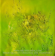 Abstract, Green Tone painting reproduction, Various Artist