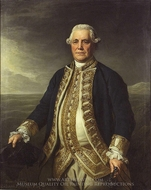 Admiral Richard Edwards painting reproduction, Nathaniel Dance