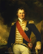 Admiral Sir Edward Thornborough painting reproduction, Samuel Lane
