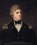 Admiral Sir John Orde painting reproduction, George Romney