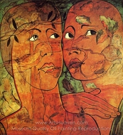 Aello painting reproduction, Francis Picabia