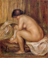 After Bathing painting reproduction, Pierre-Auguste Renoir