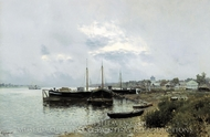 After Rain Reach painting reproduction, Isaak Levitan