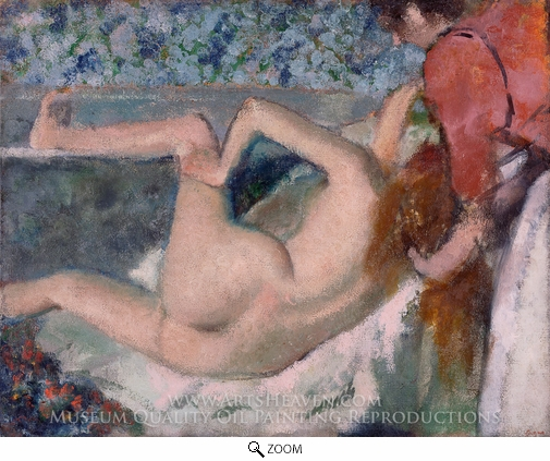 Edgar Degas, After the Bath oil painting reproduction