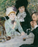 After the Luncheon painting reproduction, Pierre-Auguste Renoir