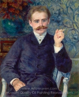 Albert Cahen d'Anvers painting reproduction, Pierre-Auguste Renoir
