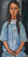 Alice painting reproduction, Amedeo Modigliani