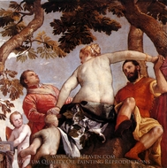 Allegory of Love I painting reproduction, Paolo Veronese