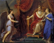 Allegory on the Peace of Pressburg painting reproduction, Andrea I. Appiani