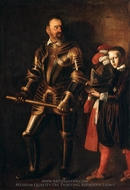 Alof de Vignacourt and His Page painting reproduction, Caravaggio