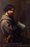 Alphonse Promayet painting reproduction, Gustave Courbet