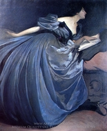Althea painting reproduction, John White Alexander