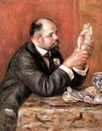 Portrait of Ambroise Vollard painting reproduction, Pierre-Auguste Renoir