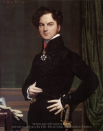 Amedee-David, Comte de Pastoret painting reproduction, Jean Auguste Dominique Ingres