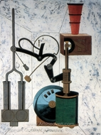 Amorous Parade painting reproduction, Francis Picabia