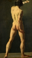 An Academie painting reproduction, French Painter
