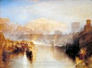 Ancient Rome, Agrippina Landing with the Ashes of Germanicus painting reproduction, J.M.W. Turner