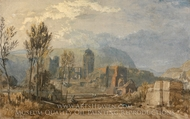 Andernach painting reproduction, J.M.W. Turner