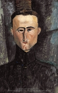 Andre Rouveyre painting reproduction, Amedeo Modigliani