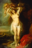 Andromeda painting reproduction, Peter Paul Rubens