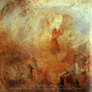 Angel Standing in a Storm painting reproduction, Joseph M. W. Turner