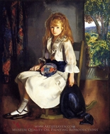 Anne in White painting reproduction, George Bellows