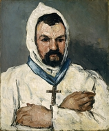 Antoine Dominique Sauveur Aubert, the Artist's Uncle, as a Monk painting reproduction, Paul Cézanne