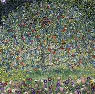 Apple Tree I painting reproduction, Gustav Klimt