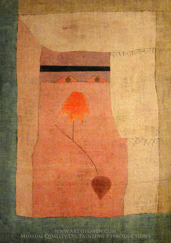 Reproduction Painting Paul Klee Arab Song Hand Painted