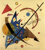 Arch and Point painting reproduction, Wassily Kandinsky