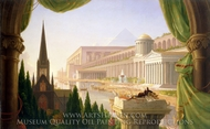 Architect's Dream painting reproduction, Thomas Cole
