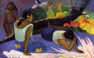 Arearea no Varua Ino painting reproduction, Paul Gauguin