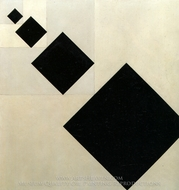 Arithmetic Composition painting reproduction, Theo Van Doesburg