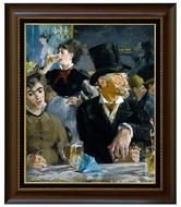 At the Cafe painting reproduction, Edouard Manet