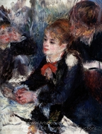 At the Milliner's painting reproduction, Pierre-Auguste Renoir