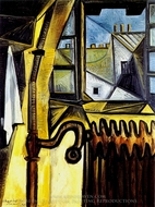 Atelier de L'Artiste, Rue des Grands Augustins painting reproduction, Pablo Picasso (inspired by)