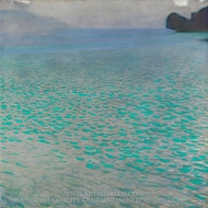 Attersee painting reproduction, Gustav Klimt