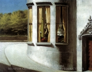 August in the City painting reproduction, Edward Hopper